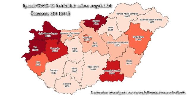 Itthon: Koronavírus Magyarországon: elhunyt 104 beteg, 2610 új fertőzöttet találtak – hvg