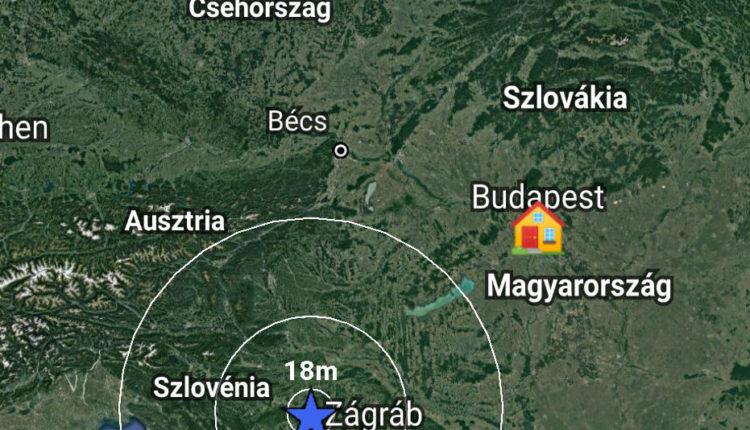 Magyarországon is érezhető volt a horvátországi földrengés – 24