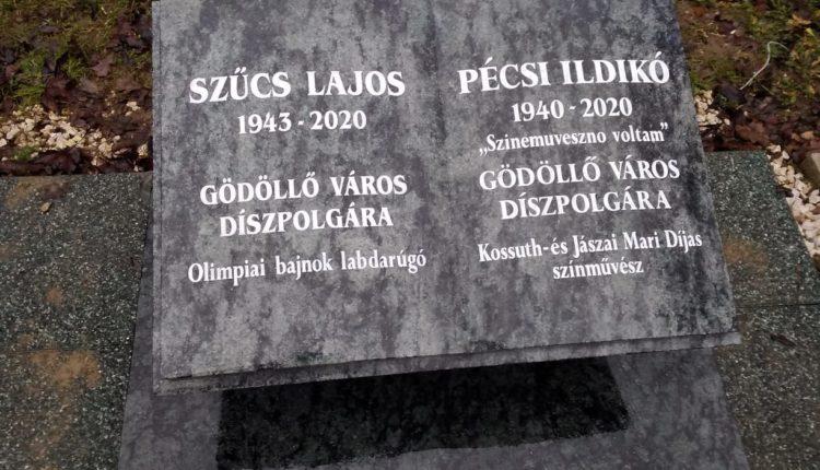 Szívbemarkoló, így néz ki Pécsi Ildikó síremléke – Fotó! – Metropol