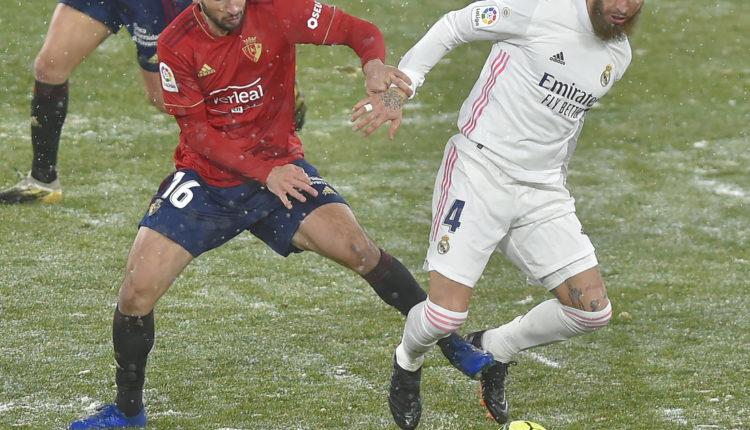 A Real Madrid nem bírt az Osasunával a szakadó hóban – Index