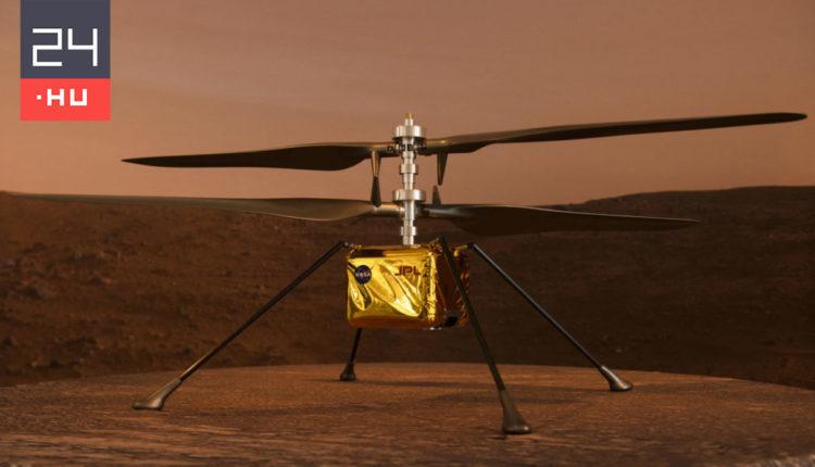 Jeleket küldött a NASA marshelikoptere – 24