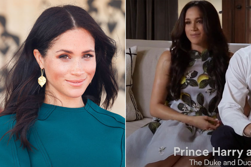 Meghan hercegné 2018-ban és napjainkban.