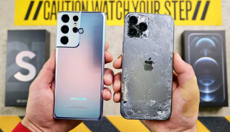 Rommá törték a Galaxy S21 Ultra és iPhone 12 Pro Max mobilokat – Origo