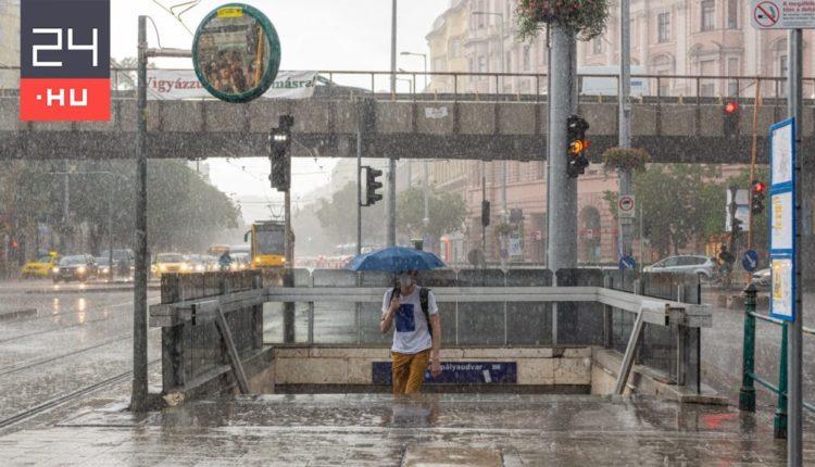 Készüljön: hidegfront érkezik, szeles, esős időre kell számítani – 24