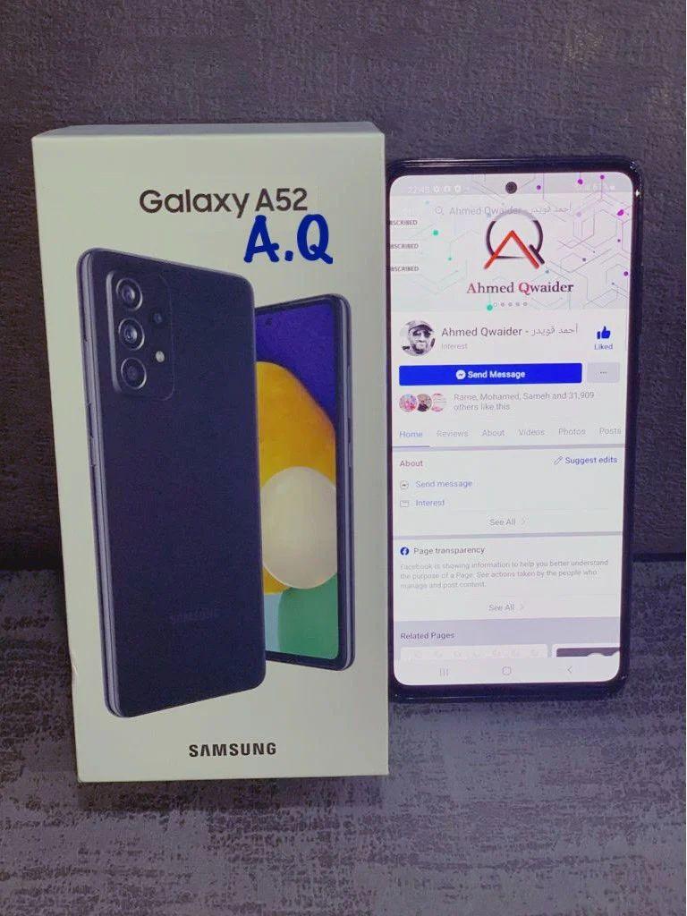 Lencsevégen a vízálló Galaxy A52