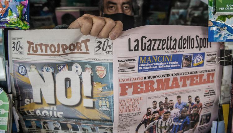 Gyorsan elbukhat az Európai Szuperliga, egymás után hátrálnának ki a nagy klubok – Portfolio