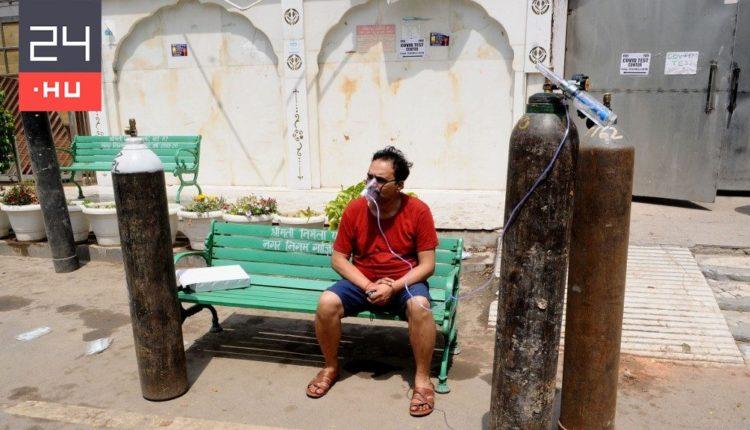 Mobil oxigéntermelő üzemeket importál India a covidos betegek számára – 24