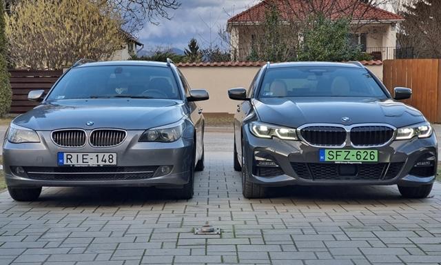 Ötös alá: teszten a zöld rendszámos kombi BMW 330e – hvg