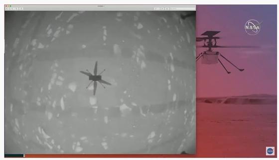 Történelmet írt a NASA, felszállt a Marson a kis helikopter – hvg
