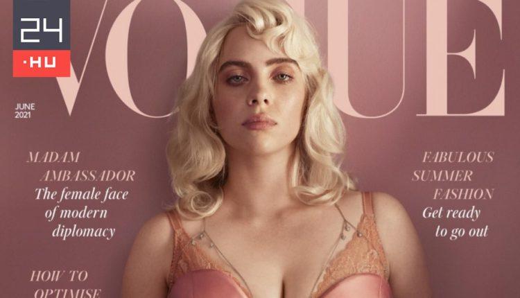 Billie Eilish fehérneműben debütált a Vogue címlapján – 24