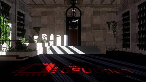 Hybrid Shadows Sample sugárkövetés nélkül és sugárkövetéssel