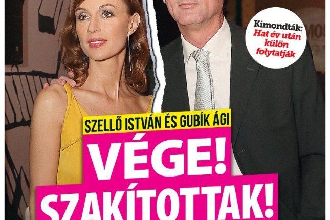 Nincs visszaút: szakított Szellő István és színésznő kedvese – Bors