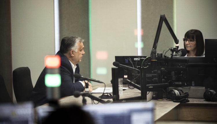 Orbán Viktor a rádióban az szja-visszatérítésről – videó – Origo