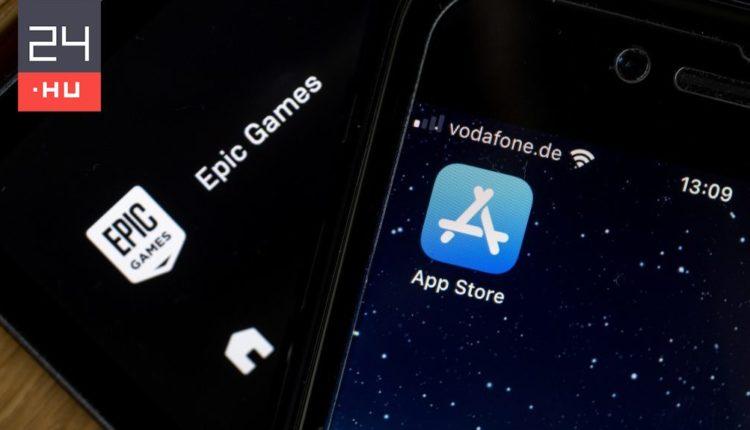 A Fortnite fejlesztőjének javára ítélt a bíróság az Apple-lel szemben – 24