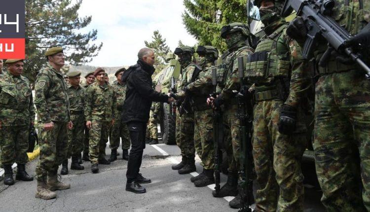 A szerb elnök fokozott harckészültséget rendelt a koszovói határnál – 24