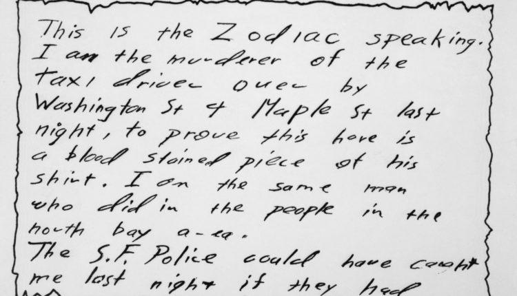 Fény derülhetett a rejtélyes Zodiákus gyilkos kilétére – Portfolio
