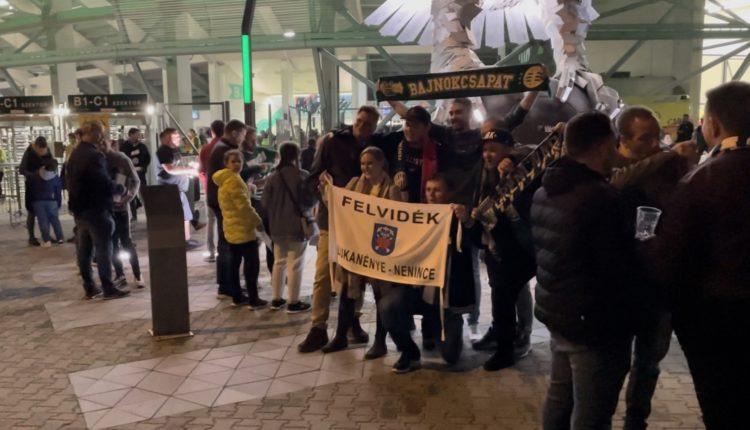 Ilyen volt a hangulat a Fradi-Betis El-meccs előtt – videó – Origo